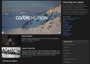 corbis-motion